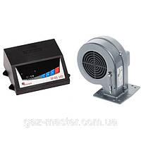 Вентилятор и автоматика для твердотопливных котлов SP-05 LED + DP-02