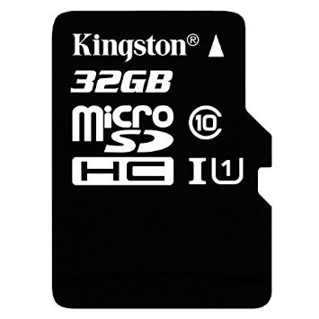 Карта памяти Kingston MicroSDHC 32GB UHS-I