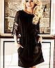 Платье с нарядными рукавами для полных (Кобби_1 jd), фото 4