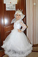 Детский карнавальный костюм Снежная Королева, Зимушка-зима - прокат, Киев, Троещина
