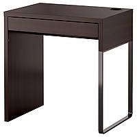 Рабочий стол ikea MICKE, черно-коричневый, IKEA, 202.447.47