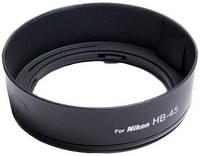 Бленда JJC LH-45 (Nikon 18-55) аналог (Nikon hb-45)