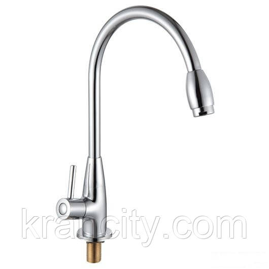 Смеситель для кухни на одну воду однорычажный ROZZY JENORI RAINBOW Z333-9MN