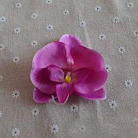 Заколка Гавайская орхидея фиолетовая 12 см.