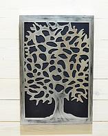 """Панно  """"Дерево в серебре"""""""