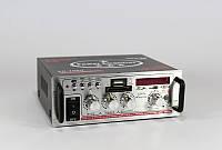 Аудио усилитель для колонок Xplod SN-705U, встроенный динамик, поддержка карт памяти, USB, FM радио