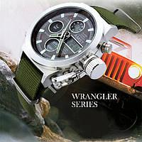 Электронные милитари часы AMST WRANGLER