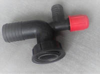 Колено сливное 40 мм фильтра опрыскивателя