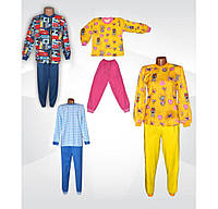 Пижама с начесом детская, подростковая, р.р.26-42