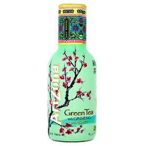 Холодный зеленый чай с медом Arizona, 500мл
