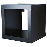 KALLAX Книжный шкаф, czarnybrąz