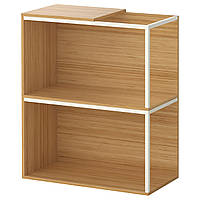 IKEA PS 2014 Комбинация regałowa, комплектация верхняя, бамбук, белый