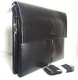 Сумка под документы Langsa. Стильные сумки Langsa. Мужская сумка-портфель. , фото 3