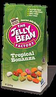 Желейные конфеты бобы тропические фрукты The Jelly Bean Factory, 225г