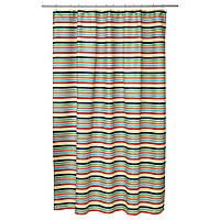 BOKVIK Штора для ванной, разноцветный