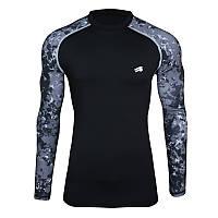 Компрессионная спортивная кофта Radical Furious II LS (original), мужской рашгард, футболка с длинным рукавом