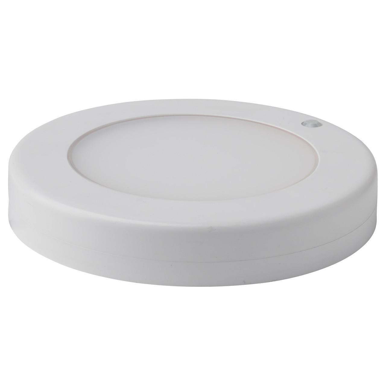 STÖTTA Светодиодн потолочн светильник/бра, с батарейным питанием белый 602.771.37