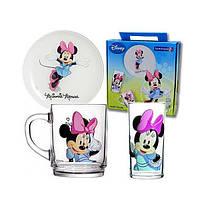 Disney Minnie Colors Набор для детей - 3 пр Luminarc H5321
