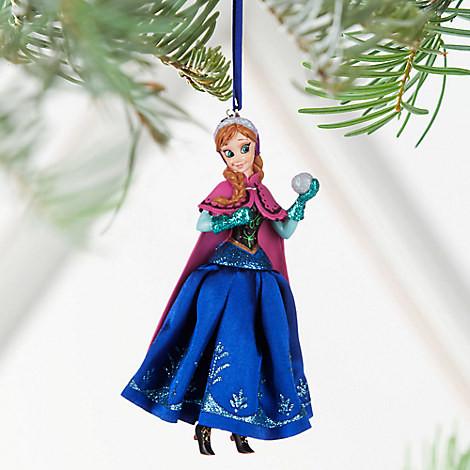 Анна Холодное сердце елочная игрушка ДИСНЕЙ / DISNEY Frozen