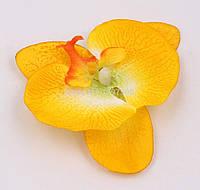 """Зажим """"Орхидея желтая"""" 12 см."""