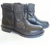 Сапоги кожаные зимние, модель Тр - 213