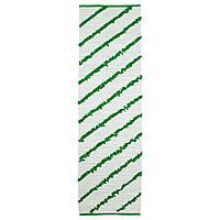 SÄLLSKAP Ковер, безворсовый, белый/зеленый