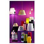Основание настольной лампы IKEA HEMMA черное 001.495.05, фото 3