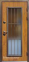 Двери входные металлические «MONOLITH» golden oak 168 Серия «NORD»