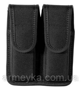 Пистолетный подсумок Bianchi. Double Mag Pouch, нейлон. USA, оригинал.