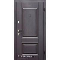 Двери входные металлические «DO-30» Венге темный 157 Серия «RESISTE»