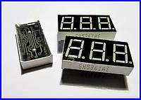 Семисегментный индикатор SH5361AS, красный.