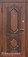 Двери входные металлические «Sangria» Vin.- Nussbaum 157 Серия «RESISTE»