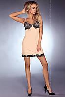 Эротическая ночная рубашка Chantel Livia Corsetti S/M, бежевый