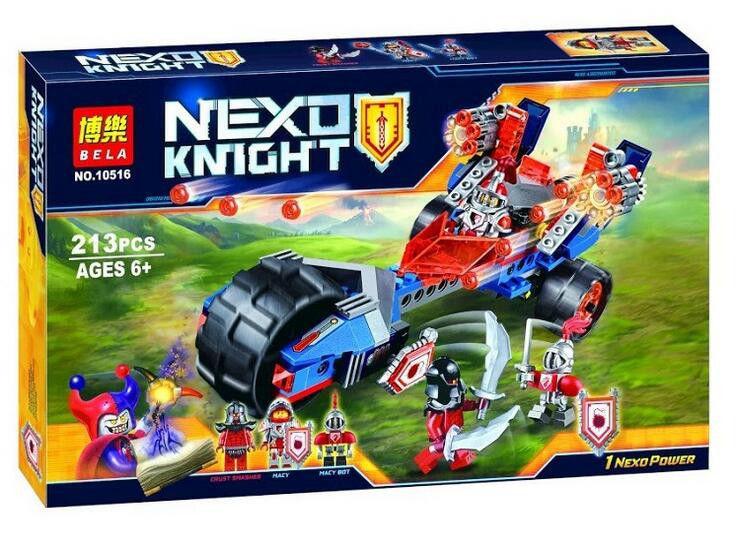 Конструктор Bela 10516 Nexo Knights Булава грома Мэйси 213 деталей
