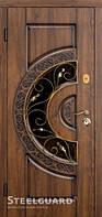 Двери входные металлические «OPTIMA» стеклопакет 157