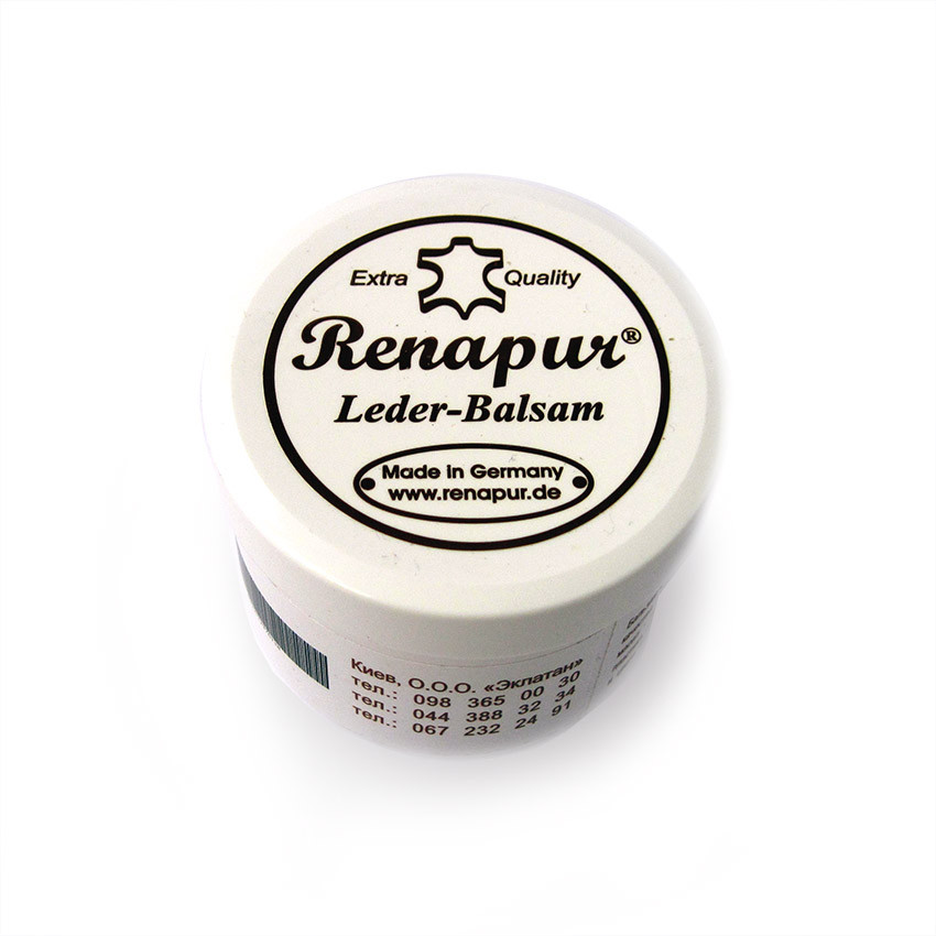 Бальзам для кожаных изделий Renapur (Boston), 185 мл