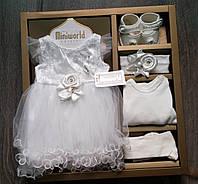 Набор для крещения, фотосессии или торжества  ТМ  Miniworld.