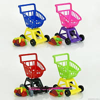 Игровой набор детский Магазин-Супермаркет с фруктами в тележке 693 В-3