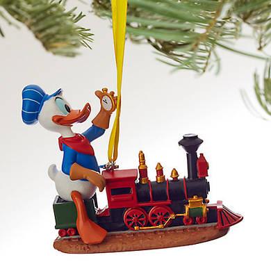 Дональд Дак Дисней елочная игрушка/ Donald Duck Sketchbook Ornament Disney