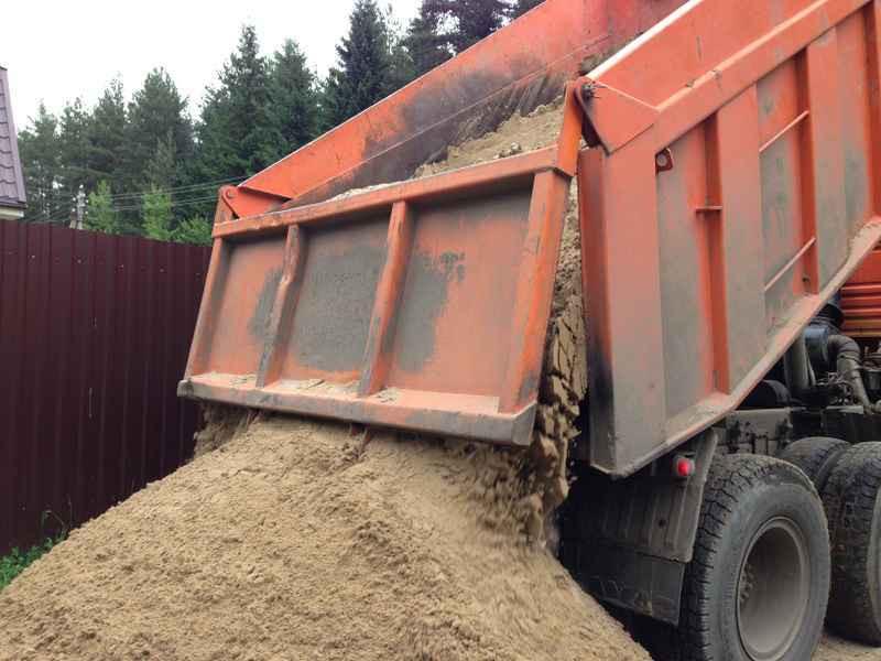 Доставка песка во Львове и области