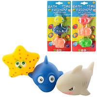 Набор игрушек для купания Животное 6821-2-3-4-5