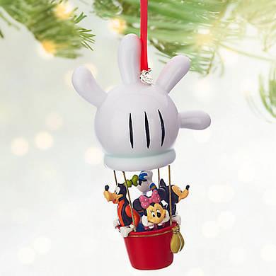 Микки Минни и друзья на воздушном шаре Дисней елочная игрушка/ Mickey Mouse Sketchbook Ornament Disney