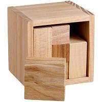 Гала-куб головоломка из дерева
