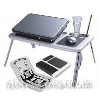 Столик-подставка для ноутбука E-Table, охлаждающая с кулером