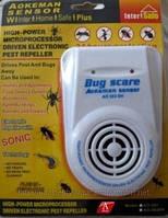 Ультразвуковой отпугиватель грызунов и насекомых Bug Scare Aokeman Sensor