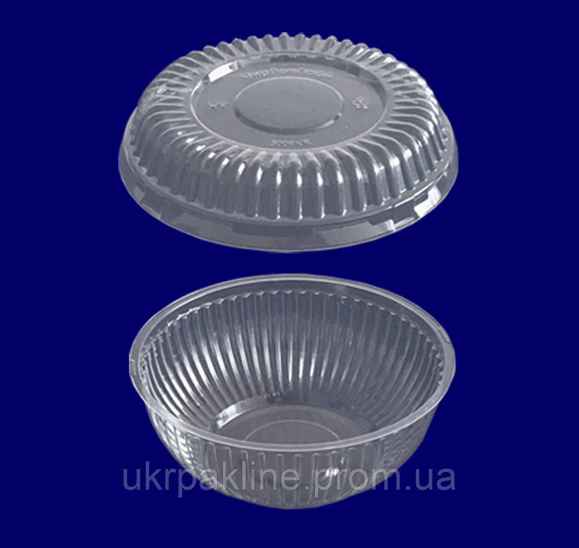 Упаковка круглая арт.500 с крышкой арт.500 РК R/РК