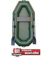 Надувная лодка Колибри К-210 гребная одноместная