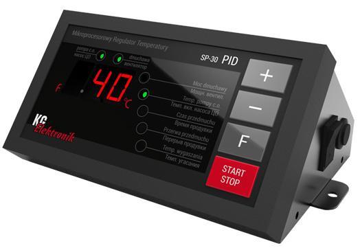 Автоматика для твердотопливного котла Kg Elektronik SP-30 PID