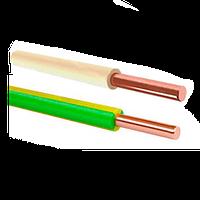 Провод ПВ-1 медный установочный  0.5 Одескабель
