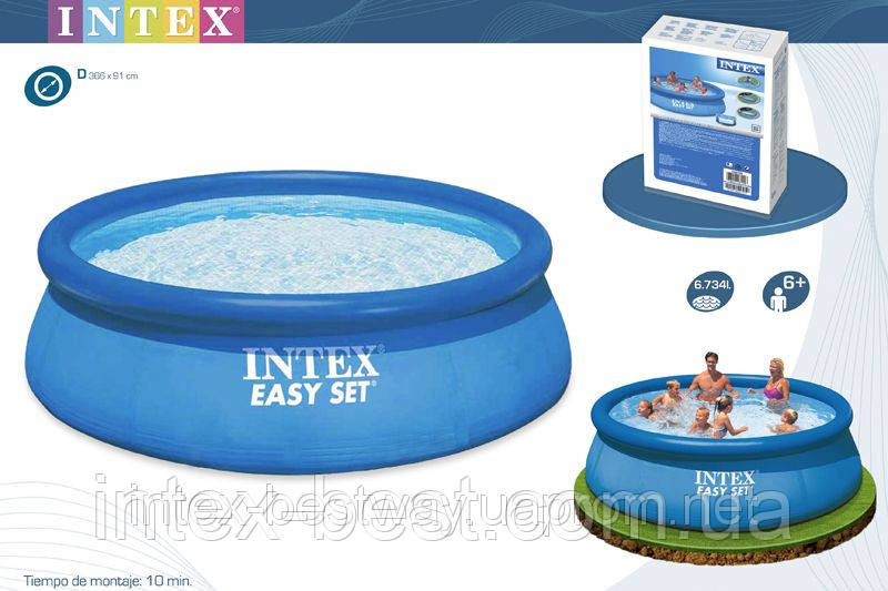 Надувные бассейны Intex 28144 (56930) (366Х91 см. )